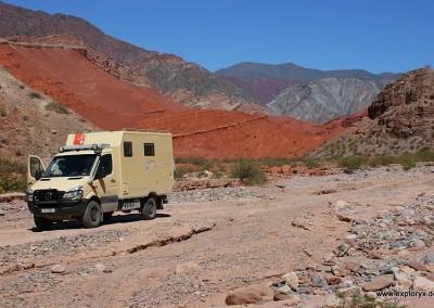 Fernreise durch Südamerika mit Impala Alexi
