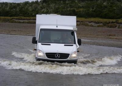 Alexi im Wasser