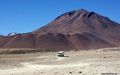 Exploryx Fahrzeuge in Bolivien