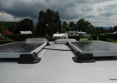 Energieeffizientes Reisemobil von Exploryx