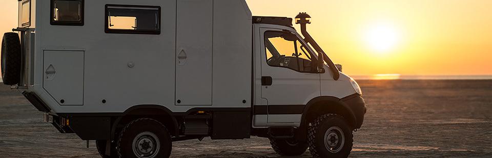 Expeditionsfahrzeug Impala Daily Leerkabine