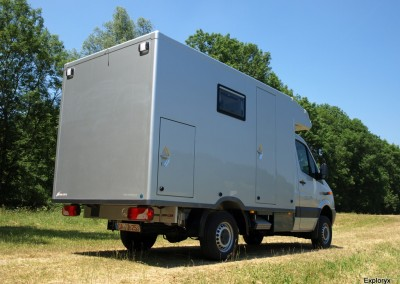 Expeditionsfahrzeug Mercedes Benz Sprinter