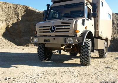 Unimog Expeditionsfahrzeug von Exploryx