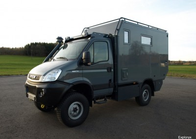 Iveco Daily Expeditionsfahrzeug mit Allradantrieb