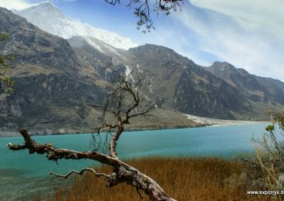 Der Bergsee Chinancocha 3850 m