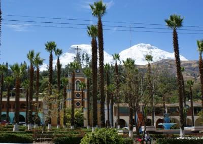 Dorfplatz (Plaza de Arma) von Carhuaz