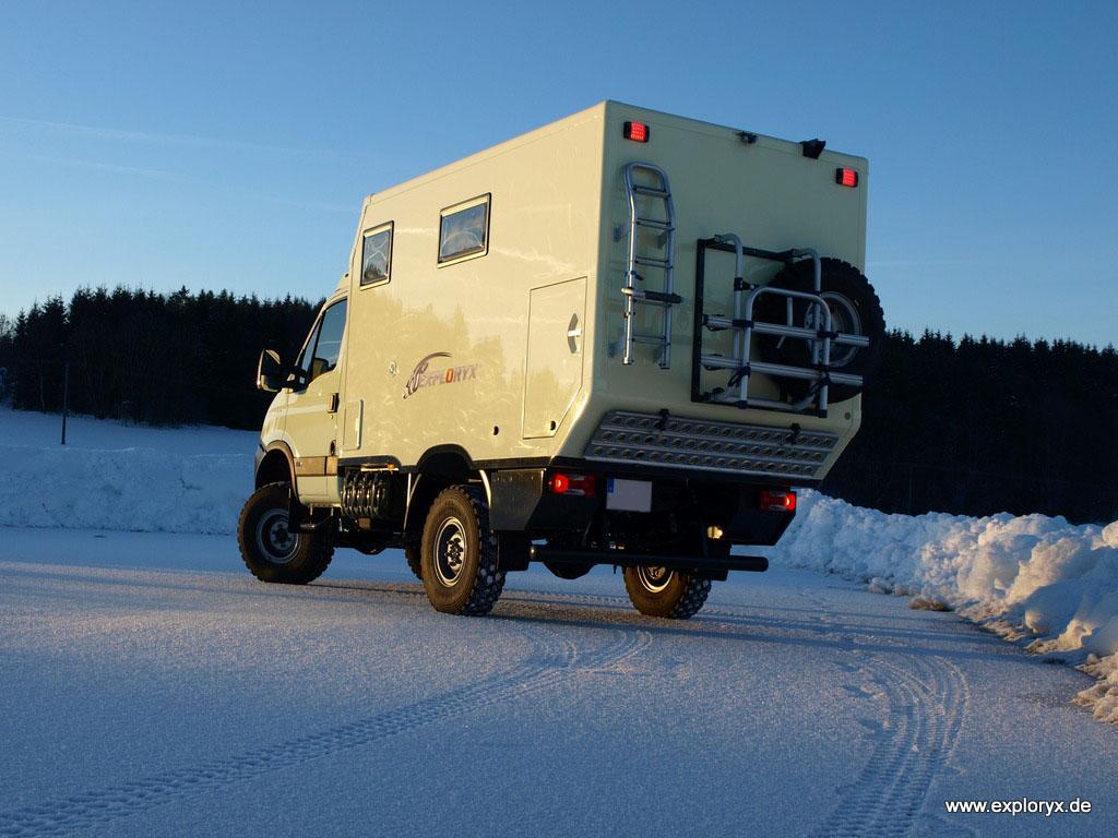 Reisemobil Iveco Daily 4x4 Expeditionsaufbau - Bildergalerien