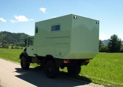 Unimog als kompaktes Fernreisemobil