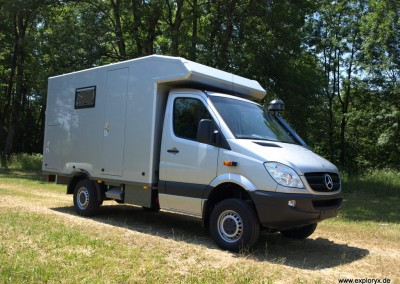 Expeditionsfahrzeug Mercedes Benz Sprinter