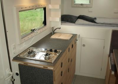 Innenansichten Exploryx Impala Reisefahrzeug