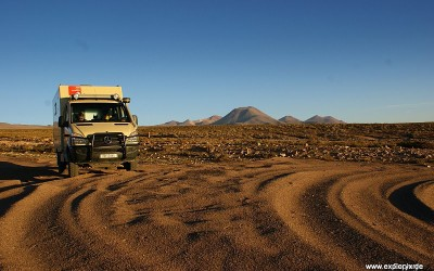 Wüstenfahrt des Milou