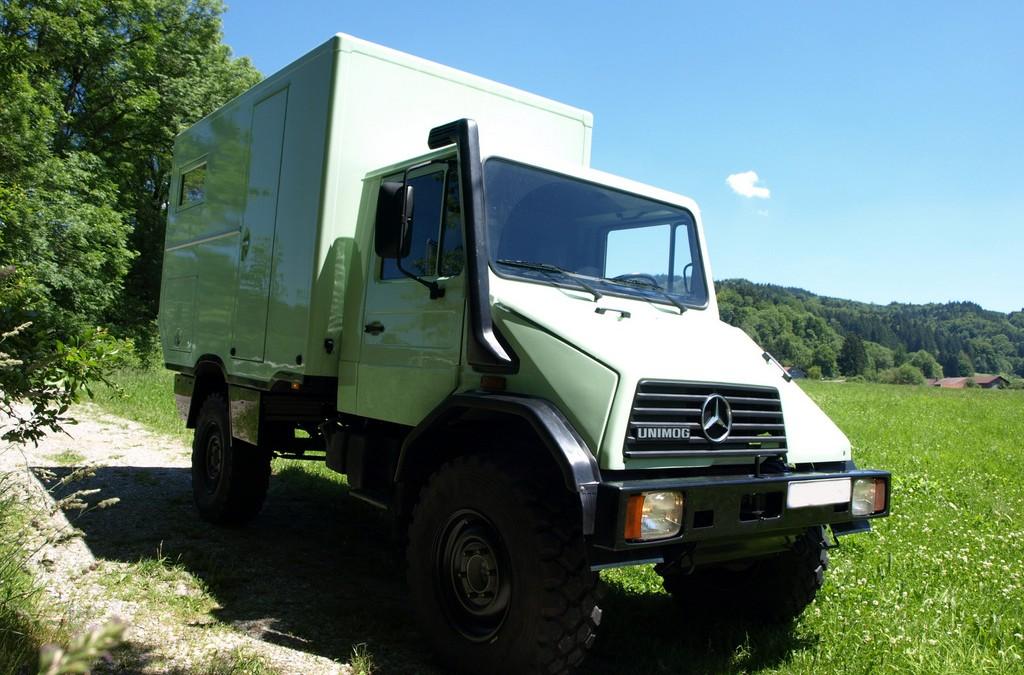 Neues Fahrzeug fertig: Klippspringer U140L
