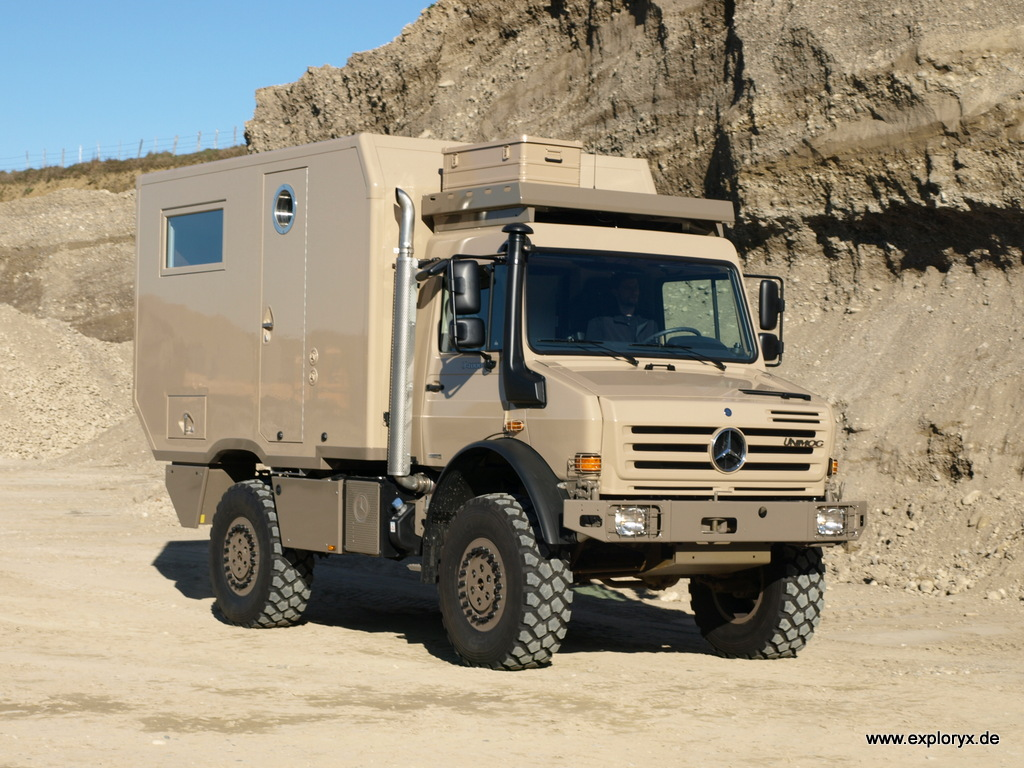 Expeditionsfahrzeuge, Reisemobile, 8x8 Allrad-Expeditionsmobile
