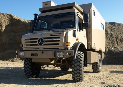 Unimog Expeditionsmobil
