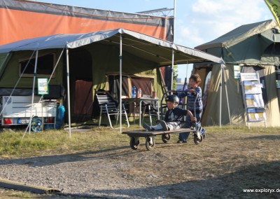 Exploryx Messestand auf der Abenteuer Allrad 2012