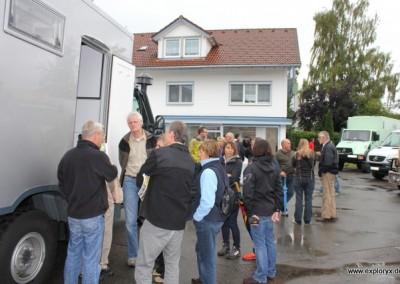 Exploryx Hausmesse 2012 mit vielen Allradmobilen