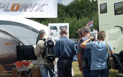 Abenteuer Allrad auf dem Exploryx Messestand 2011