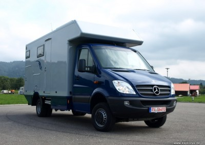 Langes Expeditionsmobil Mercedes Benz Sprinter