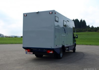 Langes Expeditionsmobil Mercedes Benz Sprinter