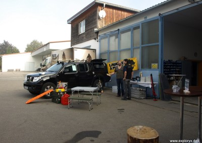 Hausmesse 2011 mit Fahrzeugaustellung