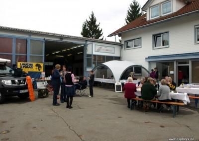 Hausmesse in Isny 2010 mit Expeditionsmobilen