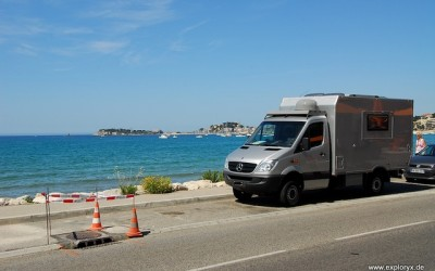 Unterwegs in Südfrankreich