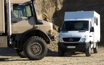 Expeditionsfahrzeug Impala Mercedes