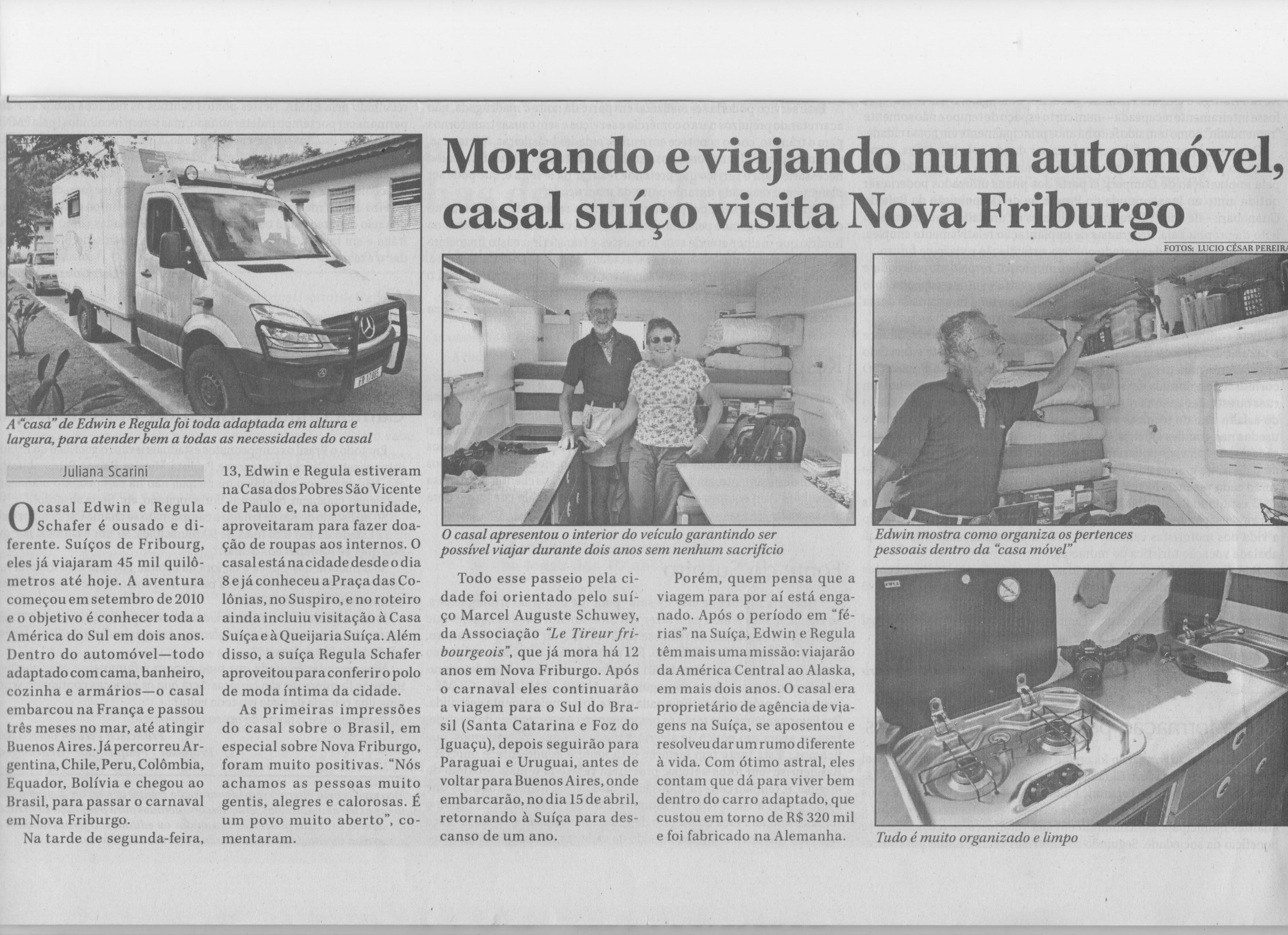 Bericht über das Expeditionsfahrzeug von Exploryx - der Impala auf Mercedes Benz Sprinter Basis