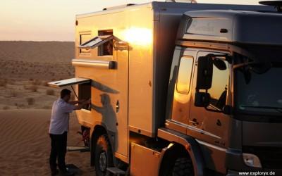 Mercedes Benz Atego Expeditionsfahrzeug in Tunesien (11)