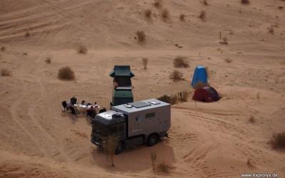 Mercedes Benz Atego Expeditionsfahrzeug in Tunesien (13)