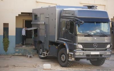 Mercedes Benz Atego Expeditionsfahrzeug in Tunesien (16)