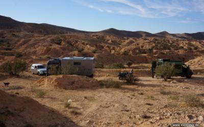 Mercedes Benz Atego Expeditionsfahrzeug in Tunesien (2)