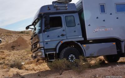 Mercedes Benz Atego Expeditionsfahrzeug in Tunesien (3)
