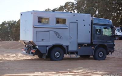Mercedes Benz Atego Expeditionsfahrzeug in Tunesien (4)