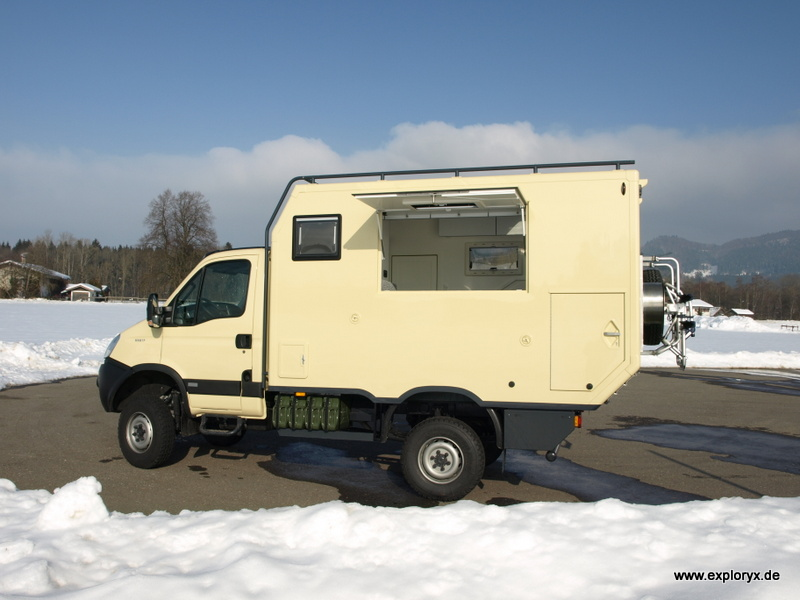 expeditionsmobile aus isny bilder des iveco daily 4x4. Black Bedroom Furniture Sets. Home Design Ideas
