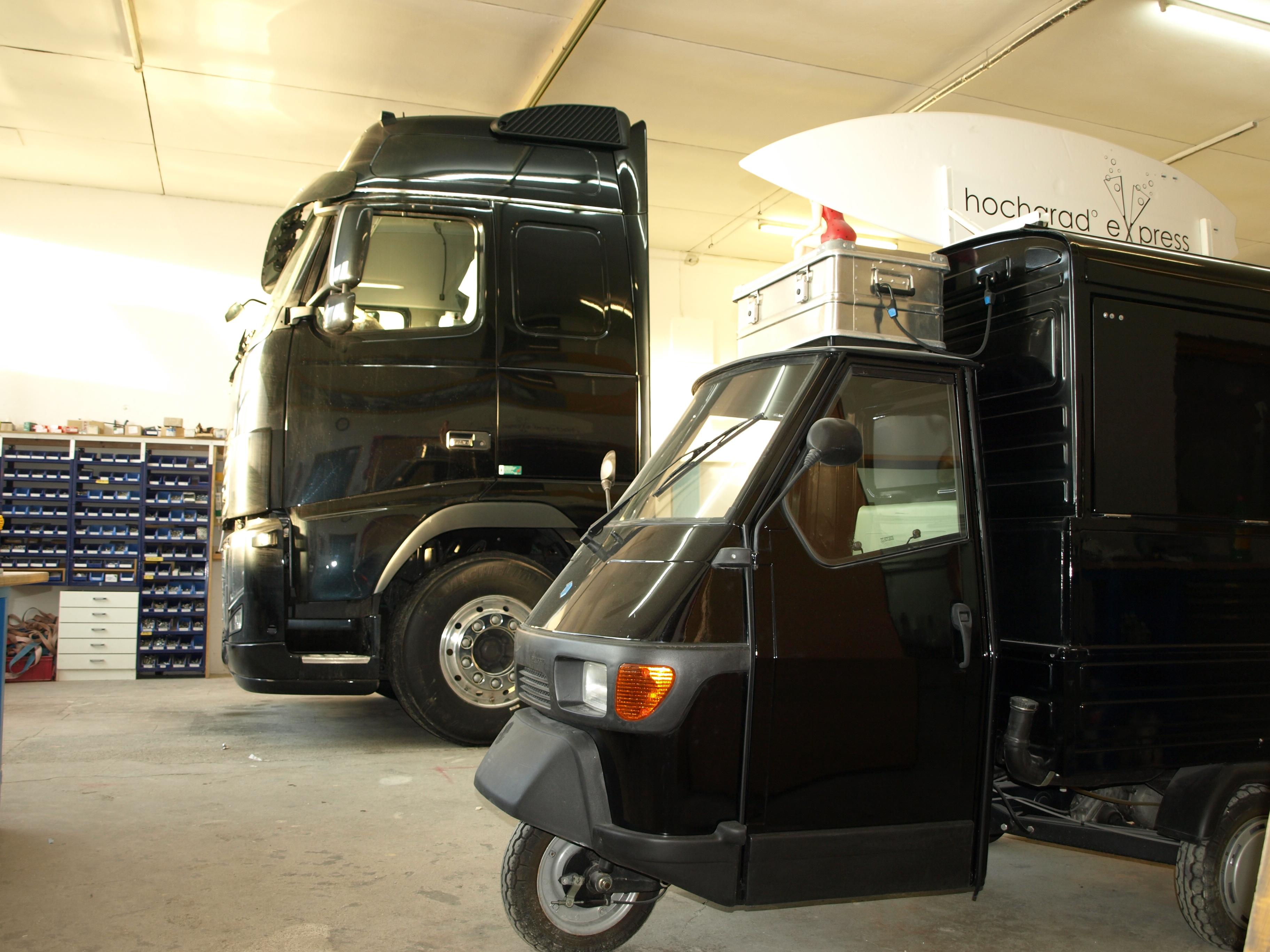 Groß und klein: die Exploryx-Expeditionsfahrzeuge