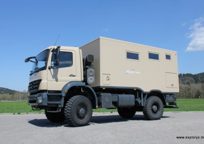 Expeditionsmobil Mercedes Benz Axor