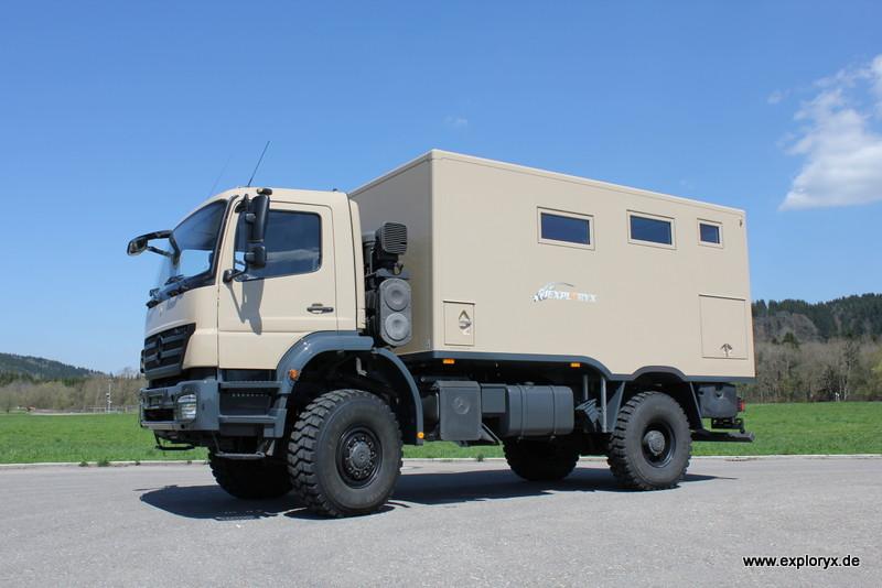 Neues Fahrzeug: Exploryx Nyala Axor