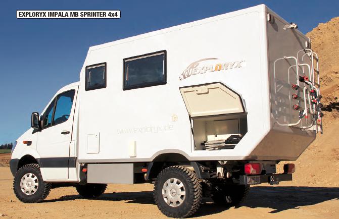 Artikel über Exploryx Expeditionsfahrzeuge in der 4x4action