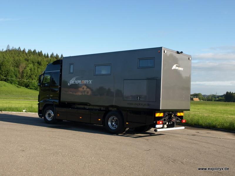 Volvo FH 16 Wohnmobil mit individuellem Innenausbau