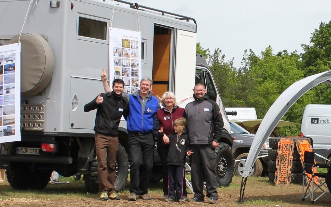 Exploryx auf der Abenteuer Allrad 2014