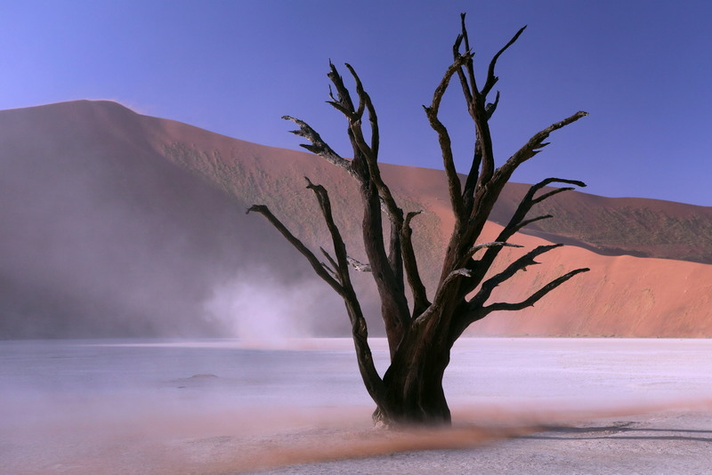 Durch die Wüste mit dem Expeditionsmobil
