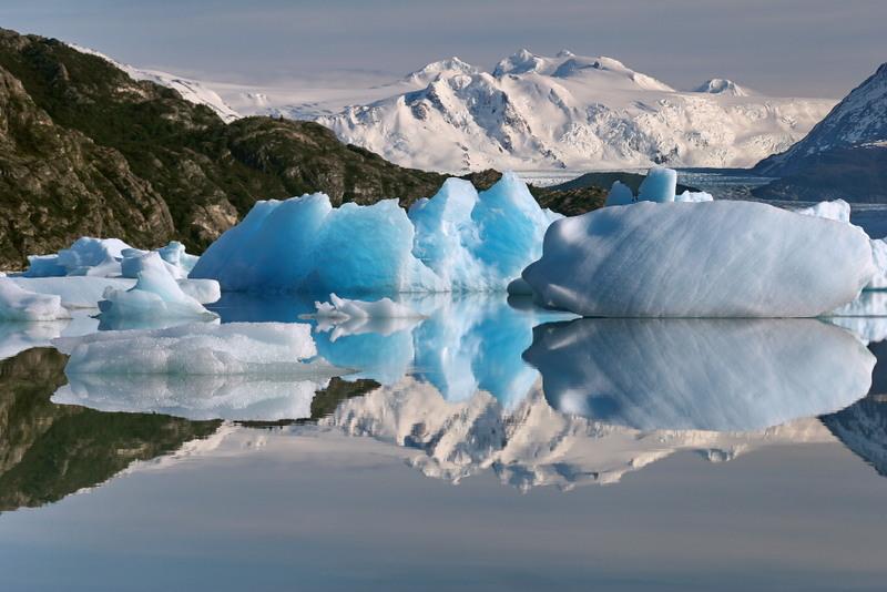 Eisgletscher in Patagonien