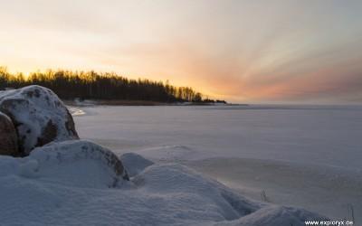Sonnenspiele im Baltikum