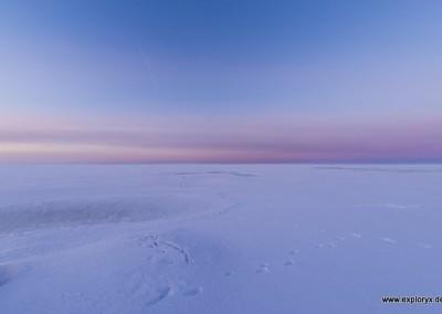 Herrliches Panorama und Lichterspiel im Baltikum
