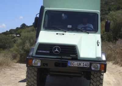 Mercedes Benz Unimog Expeditionsmobil