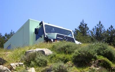 Expeditionsfahrzeug in Korsika Urlaub
