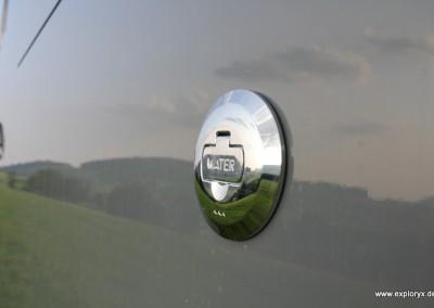 Wassertank zum Auffüllen Reisemobil