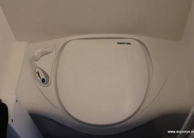 Hochwertige Badausstattung Reisemobil