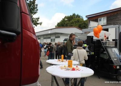 Zahlreiche Besucher bei der Exploryx Hausmesse 2013
